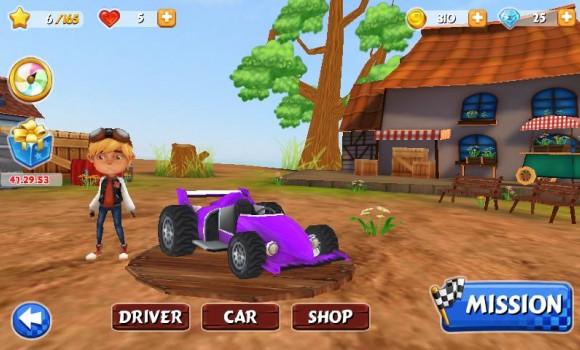 GoKart Yarışı 3D Ekran Görüntüleri - 1