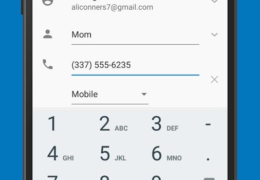 Google Contacts Ekran Görüntüleri - 1