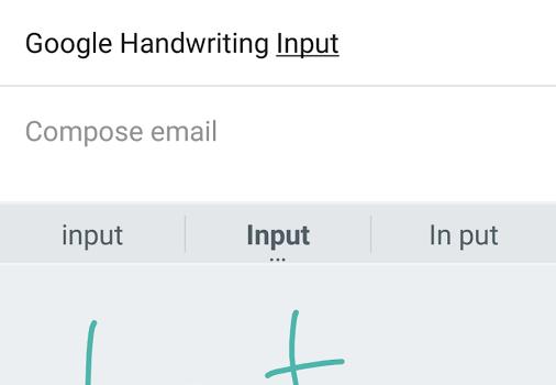 Google Handwriting Input Ekran Görüntüleri - 5
