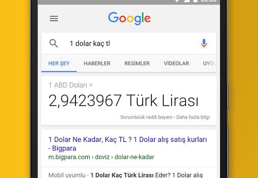 Google Search Ekran Görüntüleri - 2
