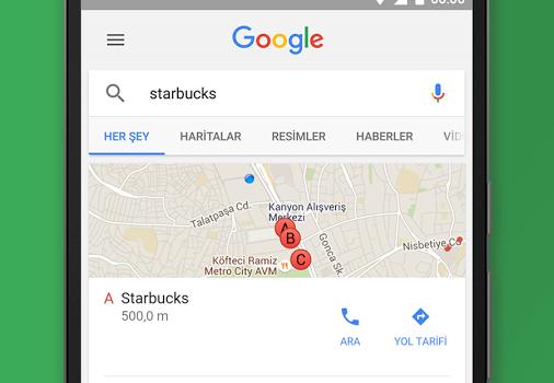 Google Search Ekran Görüntüleri - 1