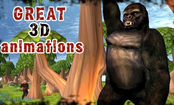 Gorilla Simulator 3D Ekran Görüntüleri - 4