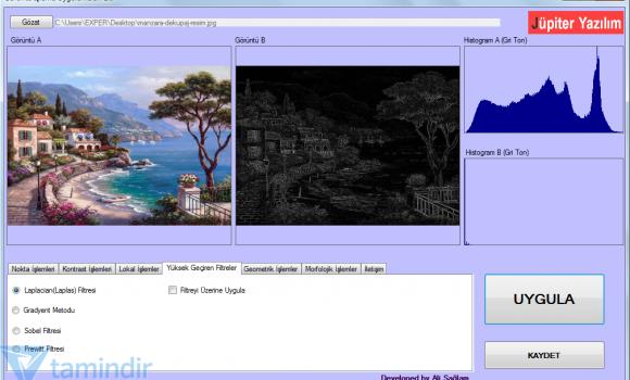 Görüntü İşleme Uygulamaları Ekran Görüntüleri - 2