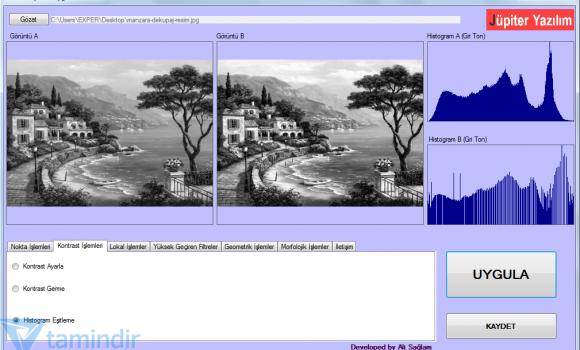 Görüntü İşleme Uygulamaları Ekran Görüntüleri - 1