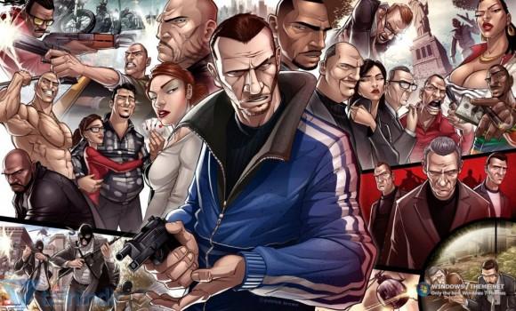 Grand Theft Auto Teması Ekran Görüntüleri - 2