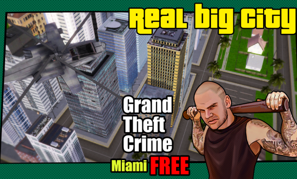 Grand Theft : Crime Miami FREE Ekran Görüntüleri - 3