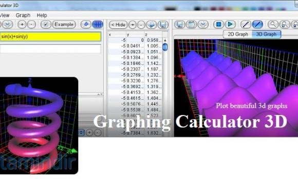 Graphing Calculator 3D Ekran Görüntüleri - 2