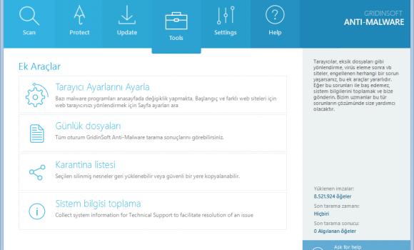 GridinSoft Anti-Malware Ekran Görüntüleri - 2