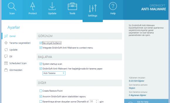 GridinSoft Anti-Malware Ekran Görüntüleri - 1
