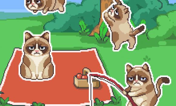 Grumpy Cat's Worst Game Ever Ekran Görüntüleri - 1