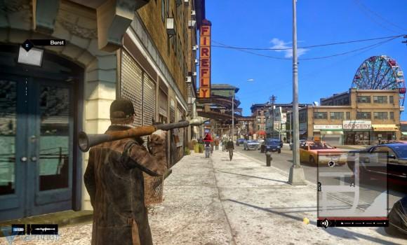 GTA 4 Watch Dogs Modu Ekran Görüntüleri - 5