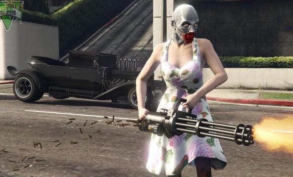 GTA 5 Cadılar Bayramı Modu Ekran Görüntüleri - 1