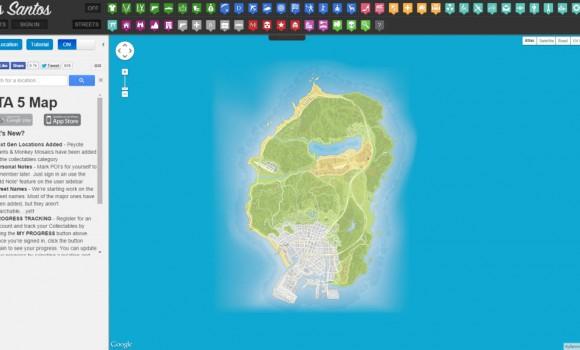 GTA 5 Haritası Ekran Görüntüleri - 4