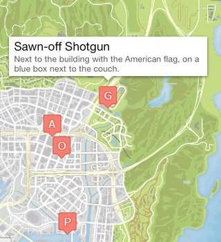 GTA 5 Haritası Ekran Görüntüleri - 1
