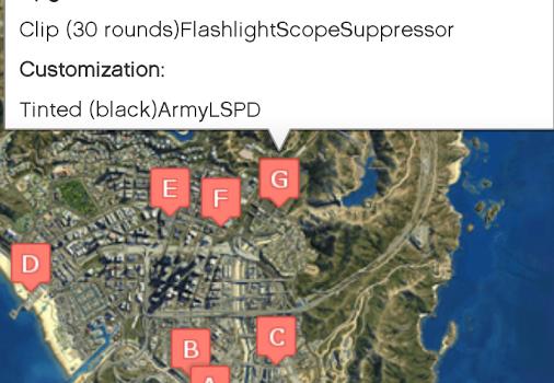 GTA 5 Haritası Ekran Görüntüleri - 2
