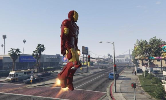 GTA 5 Iron Man Modu Ekran Görüntüleri - 3