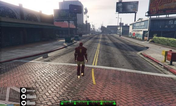 GTA 5 Iron Man Modu Ekran Görüntüleri - 1