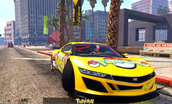 GTA 5 Pokemon Modu Ekran Görüntüleri - 2