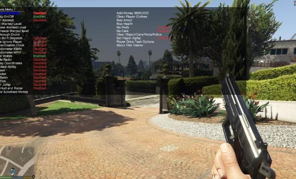 GTA 5 Simple Trainer Ekran Görüntüleri - 1