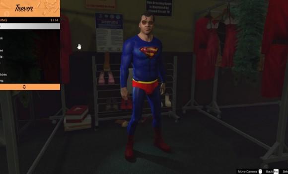 GTA 5 Superman Mod Ekran Görüntüleri - 1