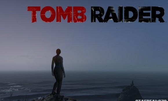 GTA 5 Tomb Raider Lara Croft Modu Ekran Görüntüleri - 6