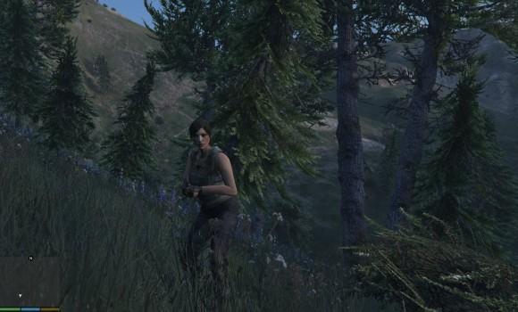 GTA 5 Tomb Raider Lara Croft Modu Ekran Görüntüleri - 3