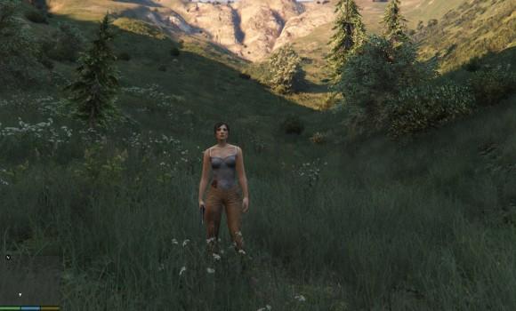 GTA 5 Tomb Raider Lara Croft Modu Ekran Görüntüleri - 2