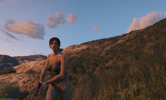 GTA 5 Tomb Raider Lara Croft Modu Ekran Görüntüleri - 1