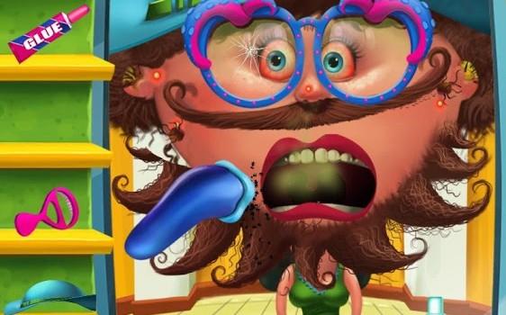Hairy Nerds - Crazy Makeover Ekran Görüntüleri - 1