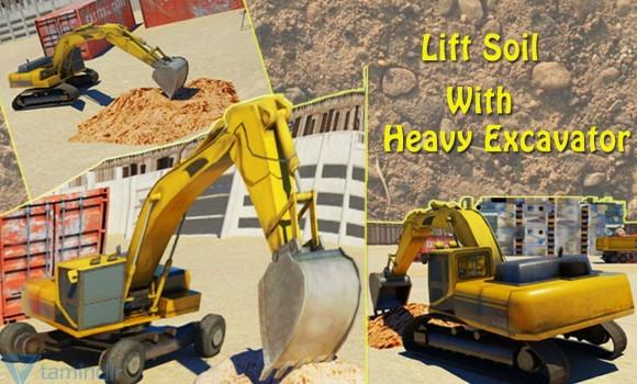 Heavy Excavator 3D Simulator 2 Ekran Görüntüleri - 1