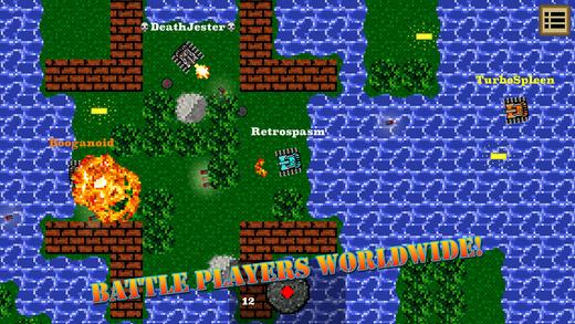 Heroic Tanks: Online Combat Ekran Görüntüleri - 3