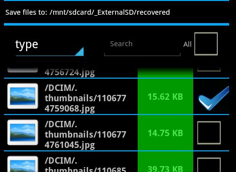 Hexamob Recovery Lite Ekran Görüntüleri - 2