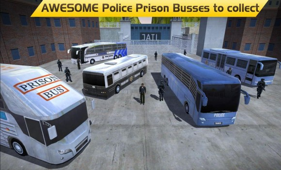 Hill Climb Prison Police Bus Ekran Görüntüleri - 7