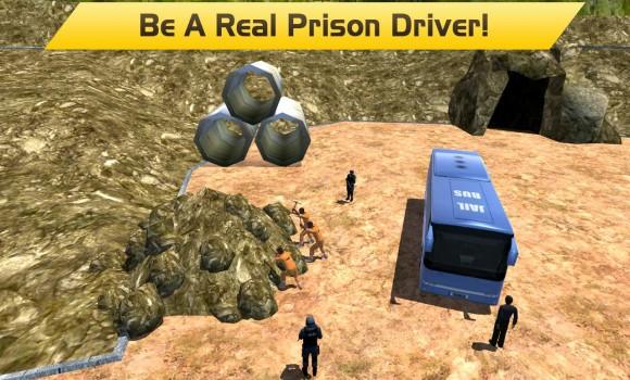 Hill Climb Prison Police Bus Ekran Görüntüleri - 6