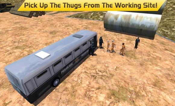 Hill Climb Prison Police Bus Ekran Görüntüleri - 5