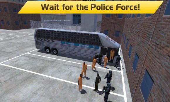 Hill Climb Prison Police Bus Ekran Görüntüleri - 1