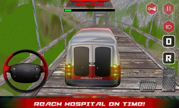 Hill Climber Ambulance Driver Ekran Görüntüleri - 6