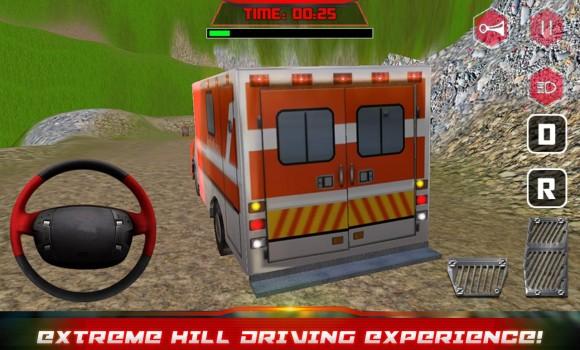 Hill Climber Ambulance Driver Ekran Görüntüleri - 4
