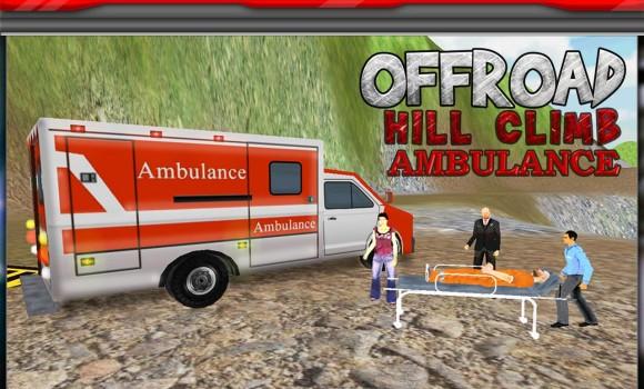Hill Climber Ambulance Driver Ekran Görüntüleri - 2
