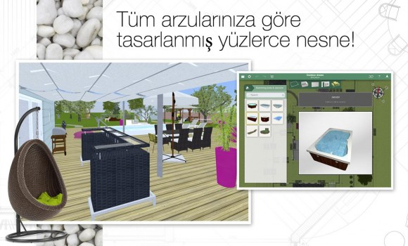 Home Design 3D Outdoor & Garden Ekran Görüntüleri - 2
