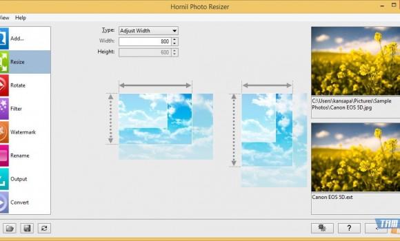 Hornil Photo Resizer Ekran Görüntüleri - 3