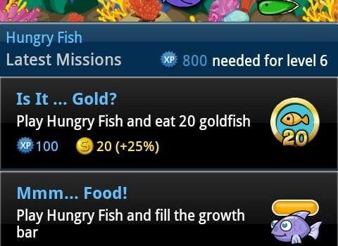 Hungry Fish Ekran Görüntüleri - 4