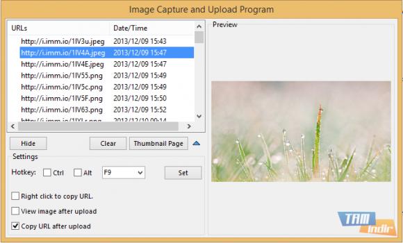 Image Capture and Upload Program Ekran Görüntüleri - 1