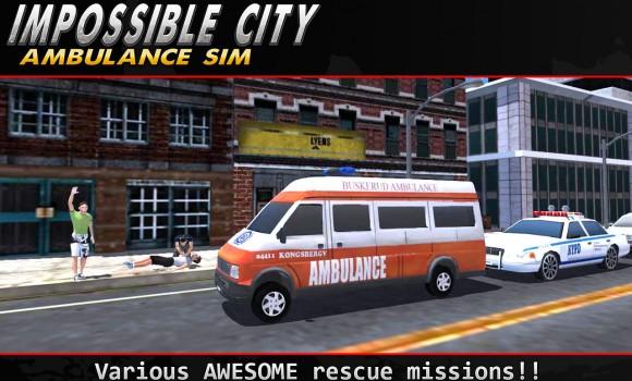 Impossible City Ambulance SIM Ekran Görüntüleri - 5