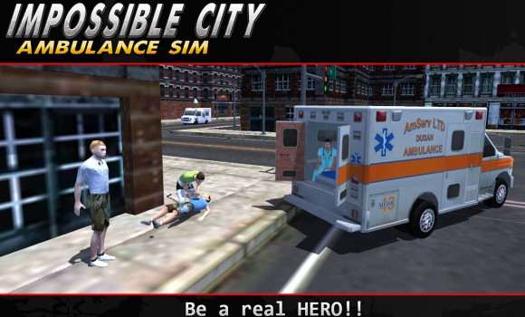 Impossible City Ambulance SIM Ekran Görüntüleri - 3