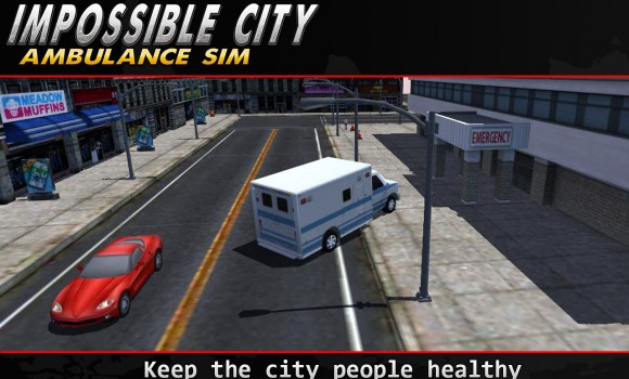 Impossible City Ambulance SIM Ekran Görüntüleri - 1