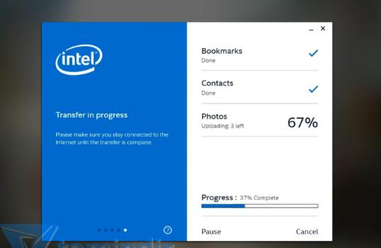 Intel Easy Migration Ekran Görüntüleri - 1