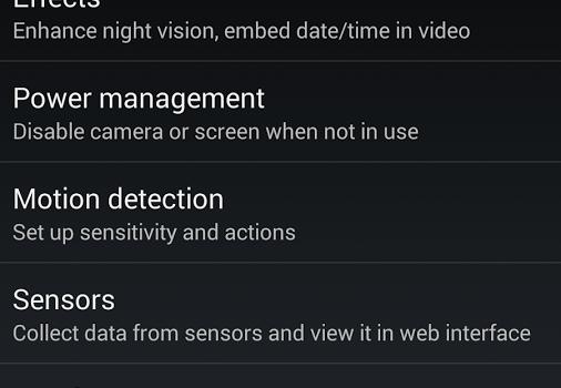 IP Webcam Ekran Görüntüleri - 1