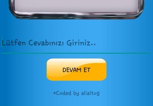 İsim Şehir Hayvan Bitki Oyunu Ekran Görüntüleri - 2