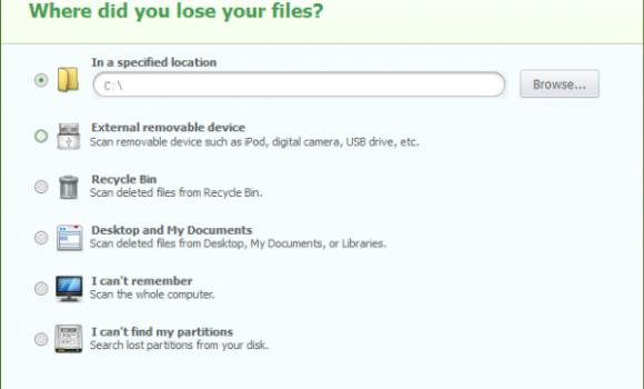 iSkysoft Data Recovery Ekran Görüntüleri - 4